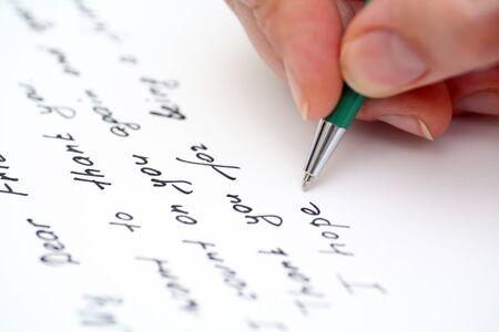 telegrama: Escribir carta a un amigo.
