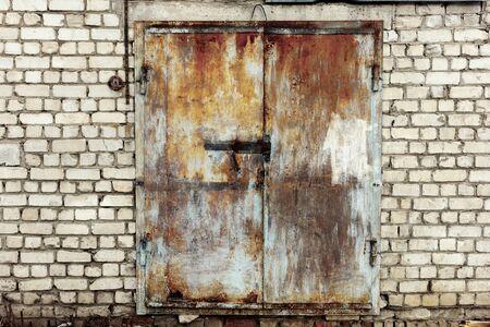 abandoned warehouse: Abandoned small warehouse
