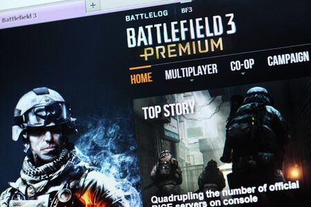 Battlefield 3 Premium main webpage on a computer screen. Battlefield 3 Premium contains Expansion Pack & Exclusive Content. Battlefield 3 (BF3) is a first-person shooter (FPS) video game developed by EA Digital Illusions CE and published by Electronic Art