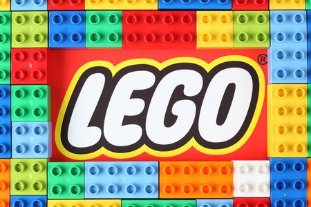 탐 보프, 러시아 - 년 12 월 16 일, 레고 브랜드에 2012 레고 듀플로 블록. 레고 (LEGO으로 대문자로 상표) 레고 그룹, 빌 룬드, 덴마크에 본사를 둔 비상장 회 에디토리얼