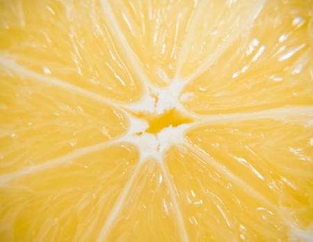 carpel: Lemon closeup