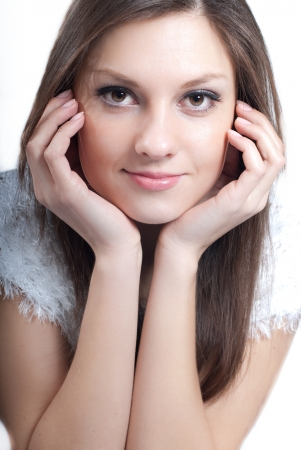 Young beautiful woman Stock Photo - 17369188