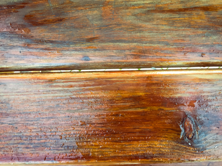 Closeup on old wooden wall background surface