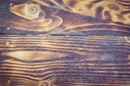 Close up view of old wood bench table for natural textured abstract surface background. Top view flat lay style design Foto de archivo