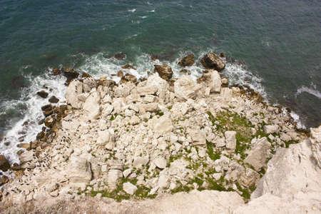 Black sea, Crimea, Tarhankut photo