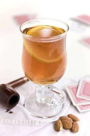 The glass of grog