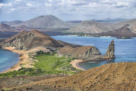 Pinnacle Rock, Islas Galápagos paisaje
