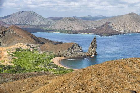 pinnacle: Pinnacle Rock, Galapagos Islands Landscape