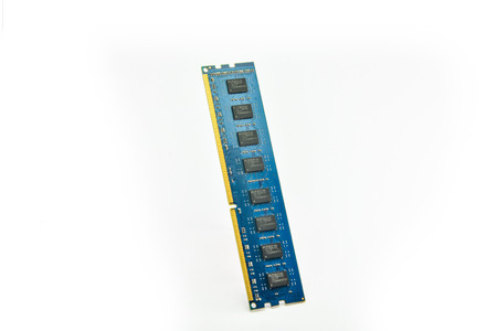 dimm: RAM on White background.