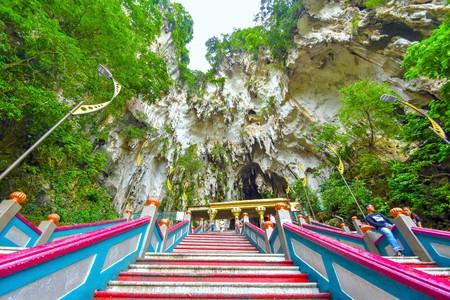 Lord Muruga, Batu caves Kuala Lumpur, Malaysia,Lord Murugan Statue is the tallest statue of a Hindu deity in Malaysia and second tallest statue of a Hindu deity in the world, only second place to the Kailashnath Mahadev Statue in Nepal.