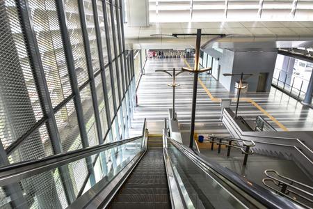 MRT Singai Buloh station - Mass Rapid Transit in Malaysia. Editorial