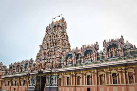Sri Kandaswamy Kovil, Hindu temple in Brickfields, Kuala Lumpur Malaysia. Photo was taken in 2017