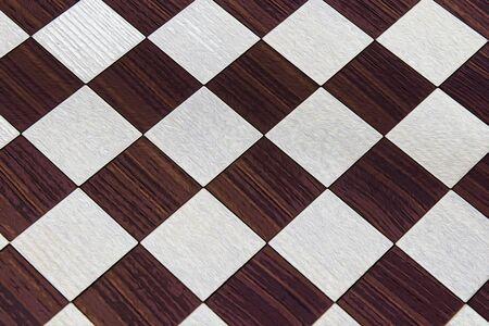 wood brown chessboard background illustration