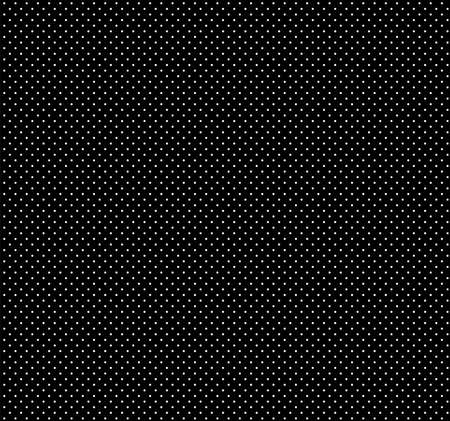 White polka dots on black background Stock Vector - 9935422