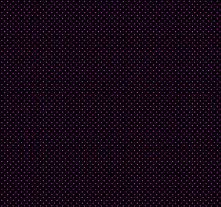Magenta polka dots on black background