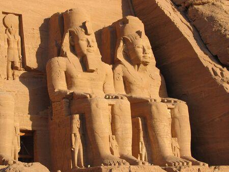The Statue of Abu Simbel near Aswan, Egypt