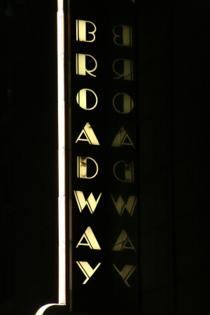 broadway: The classic Broadway Sign in New York City
