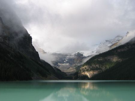 louise: Lake Louise Stock Photo