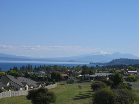 View at Taupo, New Zealand