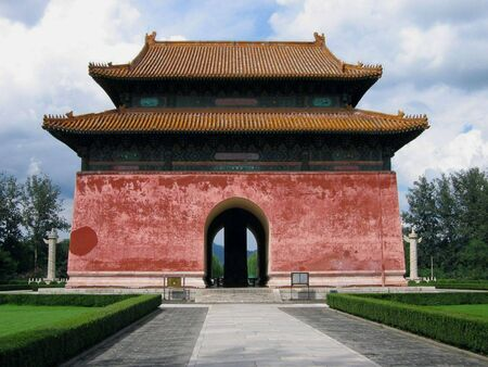 The Ming tombs near Beijing, China