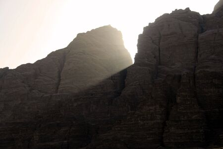 wadi: Wadi Rum desert sunset