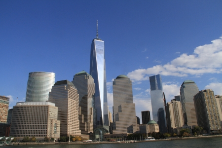 wtc: New York City skyline