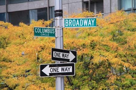 ブロードウェイの記号