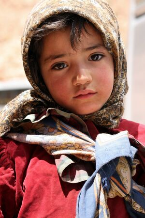 Todra Gorge, Morocco, April 7, 2011 - Little Moroccan Girl