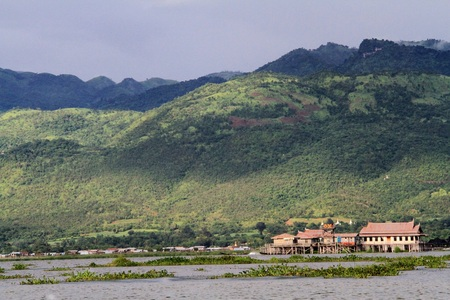 inle: Inle lake in Myanmar Stock Photo