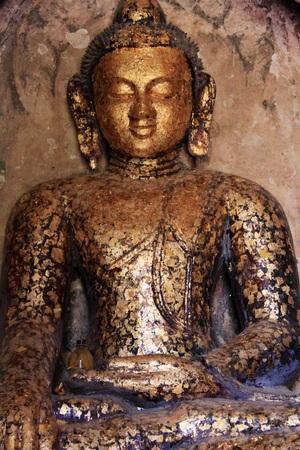 Buddha statue in Myanmar Stock Photo
