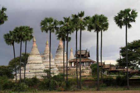 Pagodas at Bagan in Myanmar