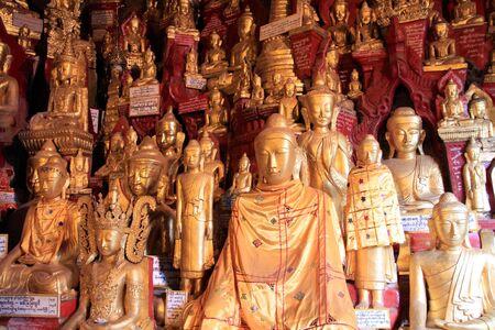 Buddha statues in Myanmar