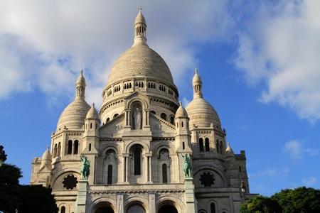 coeur: Sacre Coeur in Paris