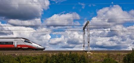 Fast train  photo