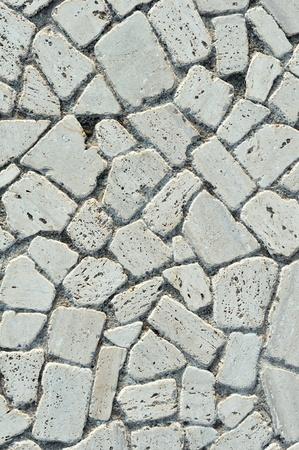Pavement Textures  White stones photo