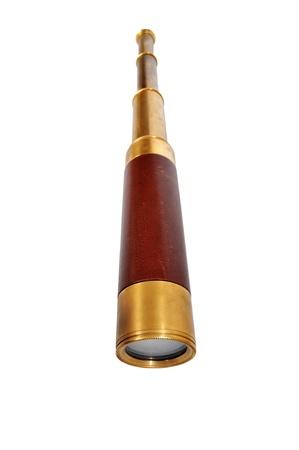 telescopic: Brass telescopic spyglass