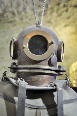 Old Taucher Helm, palombaro