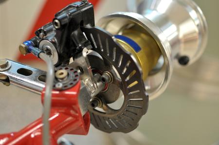 Go kart disc brakes photo
