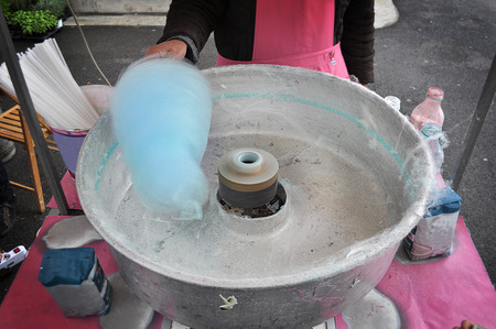 cottonwool: cotton candy machine