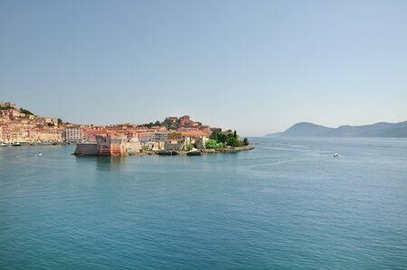 elba: Elba Island - view of Portoferraio harbor
