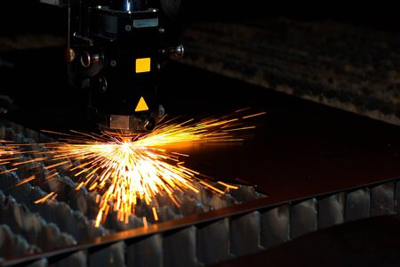 Industrial laser Stock Photo - 9679346