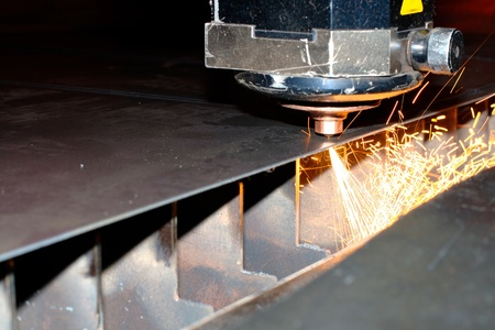 Industrial laser Stock Photo - 10335604