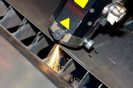 Industrial laser Stock Photo - 10335613