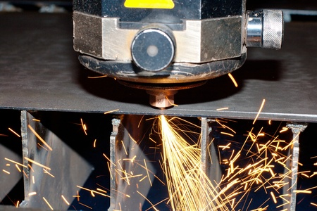 Industrial laser Stock Photo - 10335614
