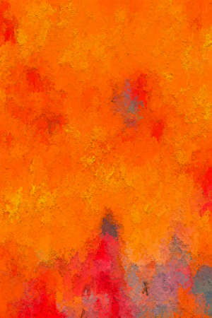 painterly: Abstract Painterly Red Orange Background Textured Stock Photo