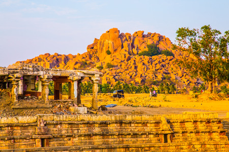 Historic building in Hampi , India