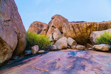 karnataka: Mountain Rocks in Hampi, Karnataka, India