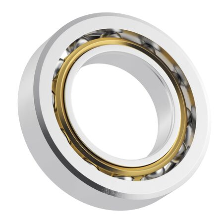 rotating parts: Metal bearing with attrition