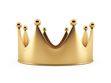 Golden Crown Stockfoto - 38077228