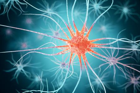3d rendering viruses in infected organism, viral disease epidemic, virus abstract background. Imagens
